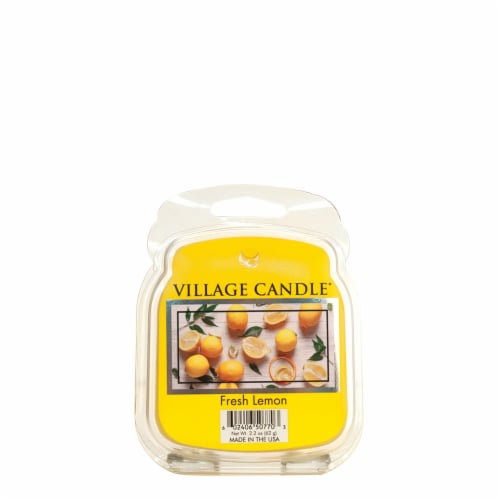 Village Candle Fresh Lemon Wax Melts Perspective: front