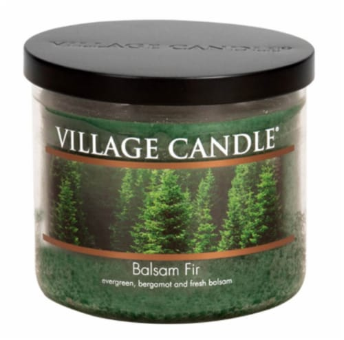 Village Candle® Balsam Fir Bowl Candle Perspective: front