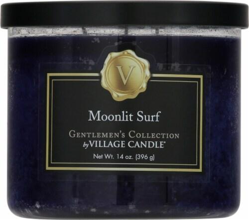 Village Candle Moonlit Surf Bowl Candle Perspective: front