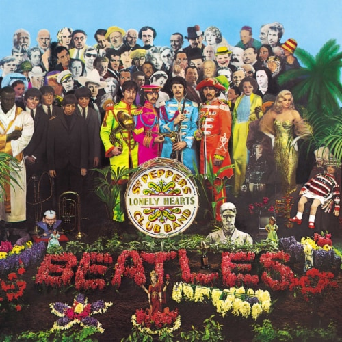 The Beatles: Sgt. Pepper's Lonely Hearts Club Band (Vinyl) Perspective: front