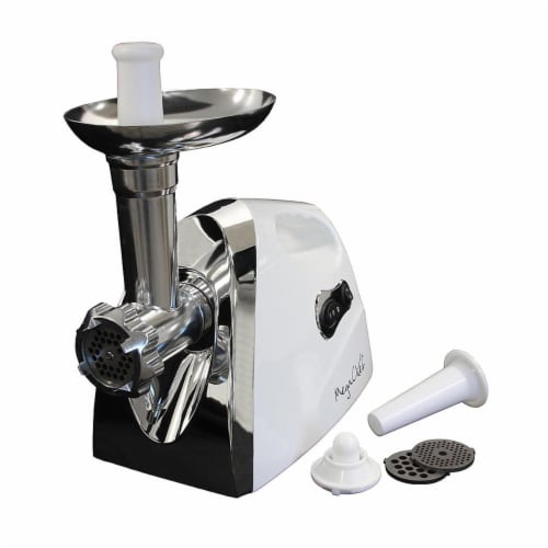 MegaChef MG-650 1200W Powerful Automatic Meat Grinder for Household Use Perspective: front