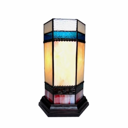 CHESTER Accent Pedestal 1 Light table lamp 14  Tall Perspective: front