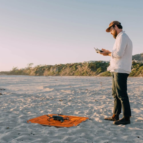 Drone Sand-free Mat Perspective: front