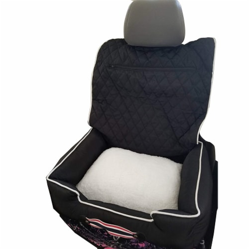 Seat Armour PETBED2G100B Car 2 Go Pet Bed, Black Perspective: front