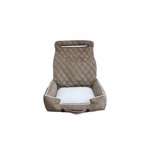 Seat Armour PETBED2G100T Car 2 Go Pet Bed, Tan Perspective: front