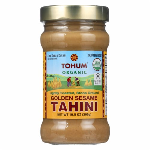 Tohum Golden Sesame Tahini Sauce  - 1 Each - 10.5 OZ - Pack of 3 Perspective: front