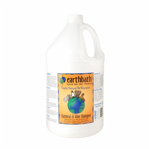 Earthbath 602644021146 Oatmeal & Aloe Shampoo 1GAL Perspective: front
