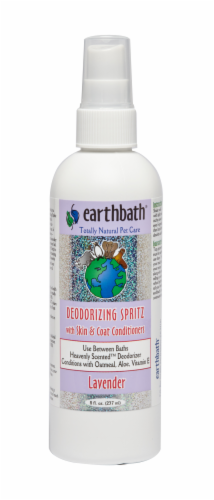 Earthbath Lavender Deodorizing Pet Spritz Perspective: front