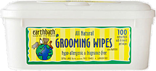 Earthbath All Natural  Grooming Wipes Perspective: front