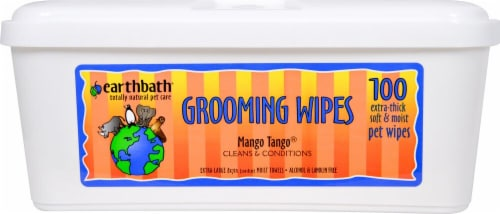 Earthbath  Grooming Wipes Mango Tango® Perspective: front