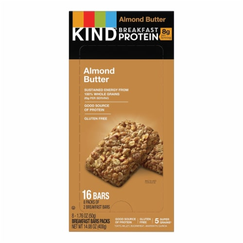 KIND  Snack Bars Perspective: front