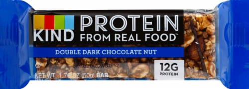 KIND Protein Double Dark Chocolate Nut Bar Perspective: front
