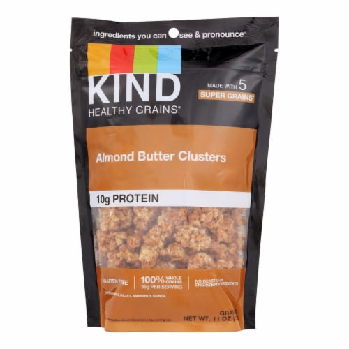 Kind Almond Butter Whole Grain Clusters - Case of 6 - 11 OZ Perspective: front