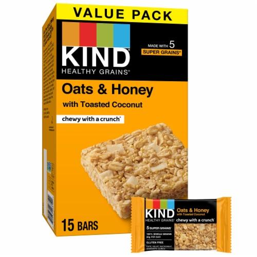 KIND Oats & Honey Bars Value Pack Perspective: front