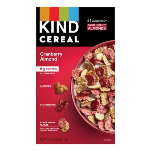 KIND Cranberry Almond Cereal Perspective: front