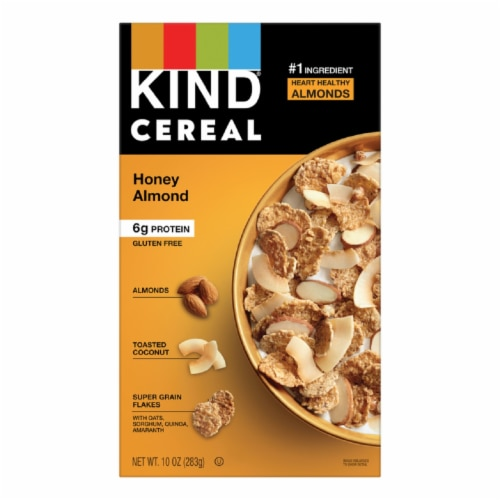 KIND Honey Almond Cereal Perspective: front