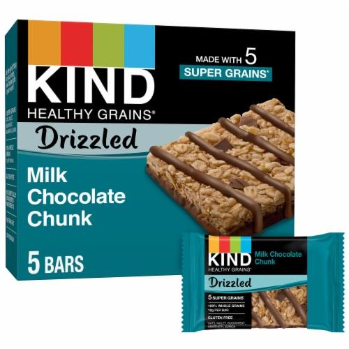 KIND Milk Chocolate Chunk Granola Bars Perspective: front