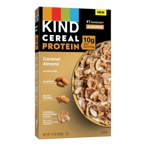 KIND® Caramel Almond Protein Cereal Perspective: front