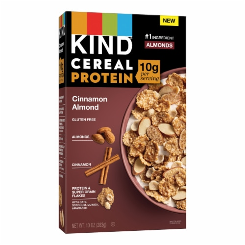 KIND® Cinnamon Almond Protein Cereal Perspective: front