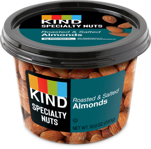 KIND Roasted Salted Almonds Perspective: front