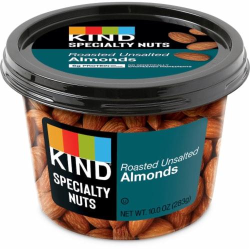 KIND® Roasted No Salt Almonds Perspective: front