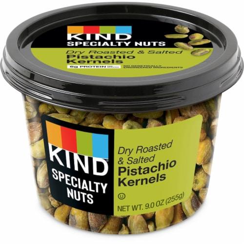 KIND Roasted Salted Pistachio Kernels Perspective: front