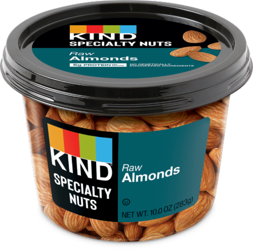 KIND® Raw Almonds Perspective: front