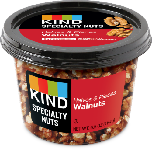 KIND Walnut Halves and Pieces Perspective: front