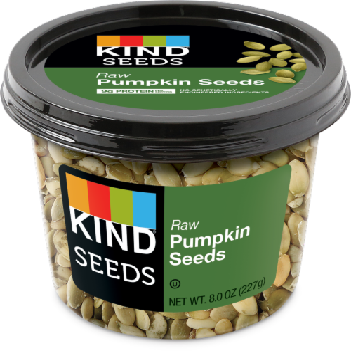 KIND Raw Pumpkin Seeds Perspective: front