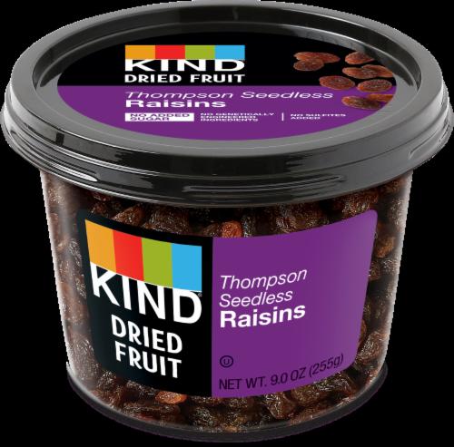 KIND Thompson Seedless Raisins Perspective: front