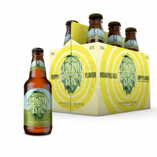 Firestone Walker Luponic Distortion IPA Beer Perspective: front