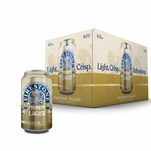 Firestone Walker Lager Beer Perspective: front