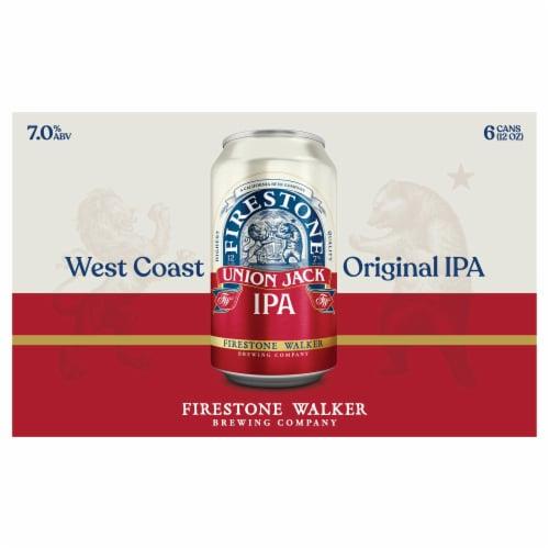 Firestone Walker Union Jack IPA Beer Perspective: front