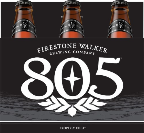 Firestone Walker Brewing 805 Ale Beer Perspective: front