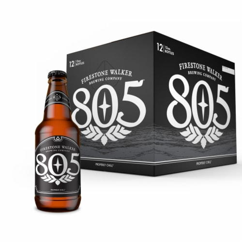 Firestone Walker 805 Ale Beer 12 Bottles Perspective: front