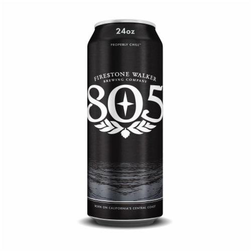 Firestone Walker 805 Beer Perspective: front