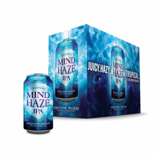 Firestone Walker Mind Haze IPA Beer Perspective: front