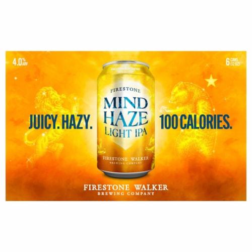 Firestone Walker Flyjack Hazy IPA Beer Perspective: front