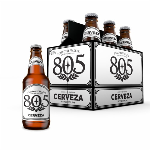 Firestone Walker 805 Cerveza Beer Perspective: front