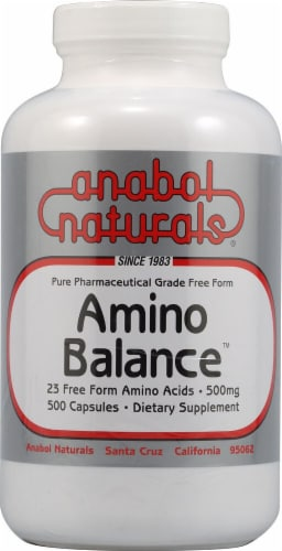 AnabolNaturals  Amino Balance Perspective: front
