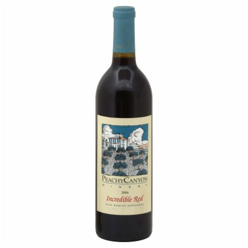 Peachy Canyon Incredible Red Zinfandel Perspective: front
