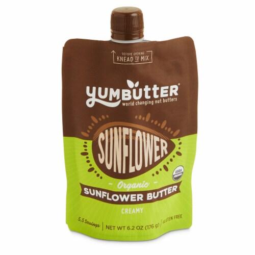 Yumbutter Organic Sunflower Butter Perspective: front
