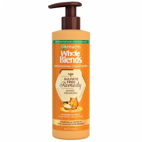 Garnier Whole Blends Honey Conditioner Perspective: front