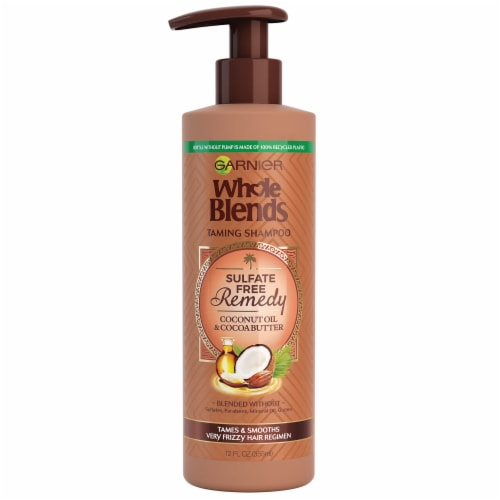 Garnier Whole Blends Cocoa Shampoo Perspective: front