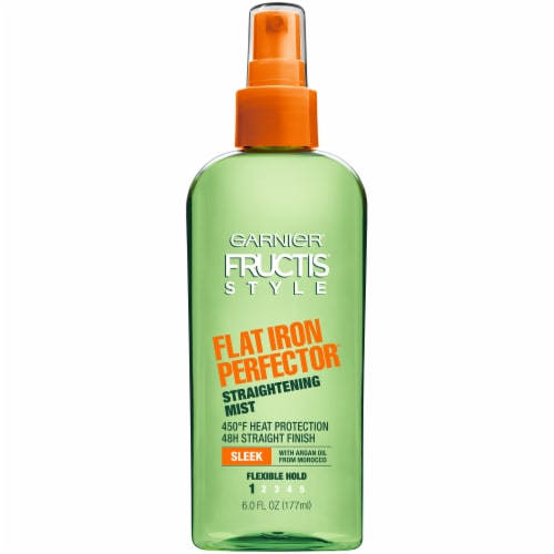 Garnier Fructis Flat Iron Perfector Straightening Hair Mist Perspective: front
