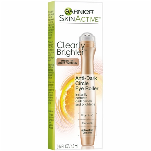 Garnier SkinActive Clearly Brighter Light/Medium Sheer Tint Anti-Dark Circle Eye Roller Perspective: front