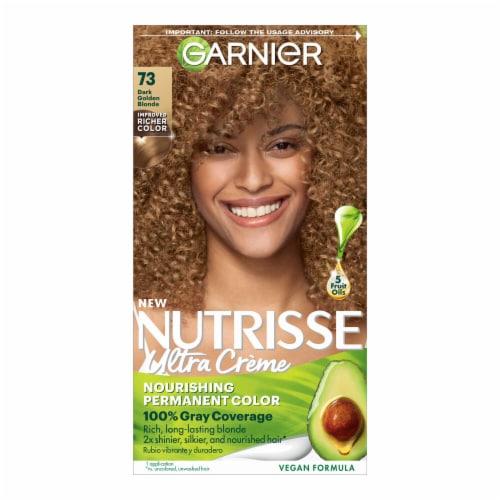 Garnier Nutrisse 73 Dark Golden Blonde Hair Color Kit Perspective: front