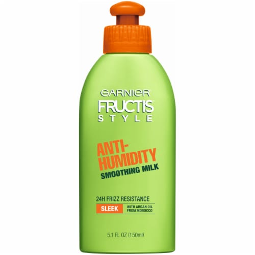 Garnier Fructis Style Anti-Humidity Smoothing Milk Perspective: front