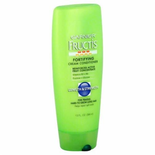 Garnier Fructis Length & Strength Conditioner Perspective: front