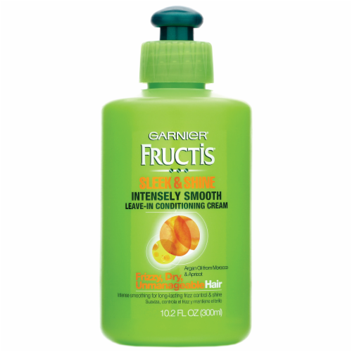 Garnier Fructis Sleek & Shine Leave-In Conditioner Cream Perspective: front